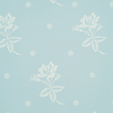 Living :: Wallpaper :: Laura de la Mare Girlie Bedroom Wallpaper Blue
