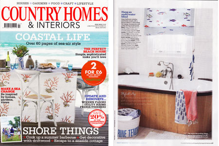Country Homes & Interiors July 2012