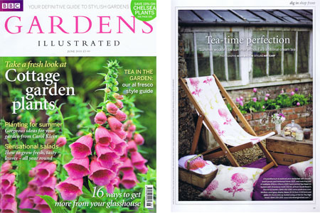 Gardens illustrated Magazine June 2010