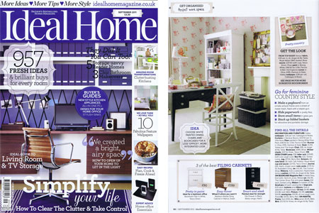 Ideal Home Magazine September 2011