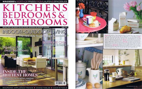 Kitchens, Bedrooms and Bathrooms Magazine June 201