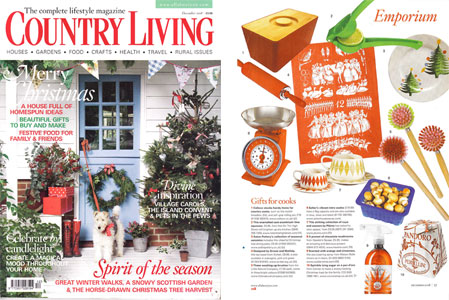 Country Living Magazine December 2008