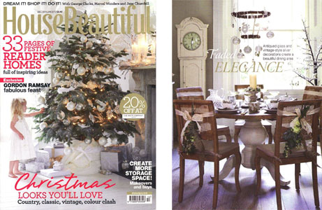 House Beautiful Magazine December 2011 / January 2012