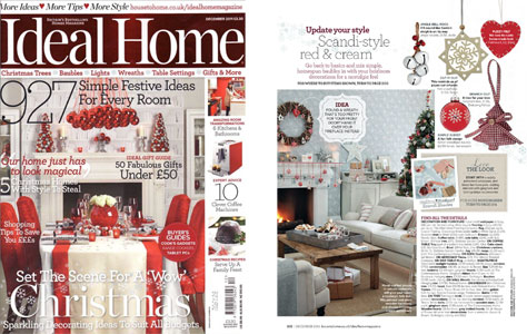 Ideal Home Magazine December 2011