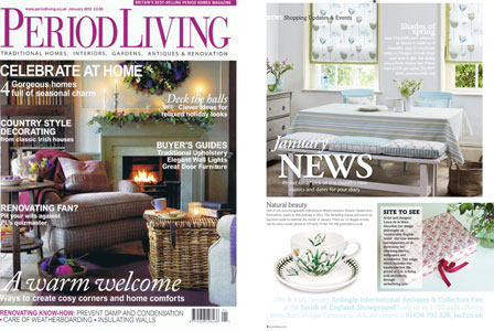 Period Living Magazine January 2012