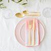 Blush Pink Tableware Dinner Plate