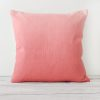 Marsarla hand dyed linen square cushion