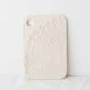 White Lace Ceramic Serving Board